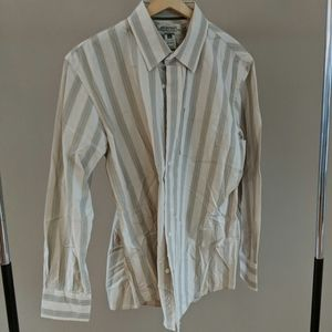 American Rag Striped Button up Collared Shirt